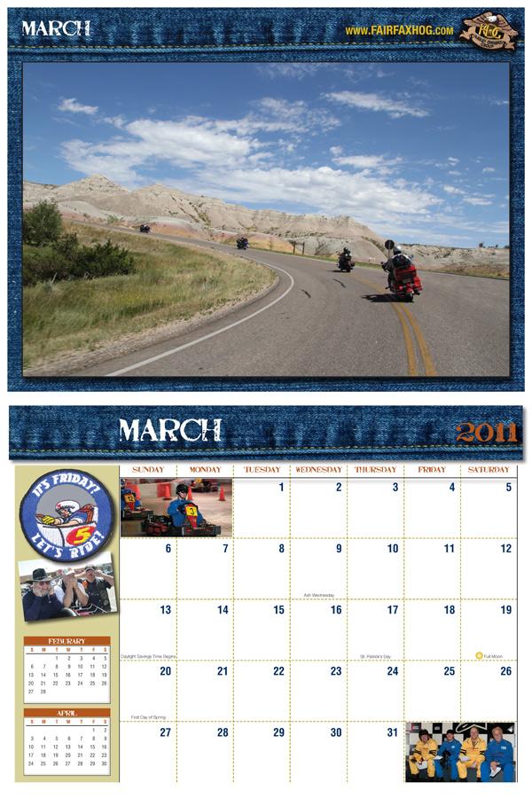 FHOG 2011 calendar