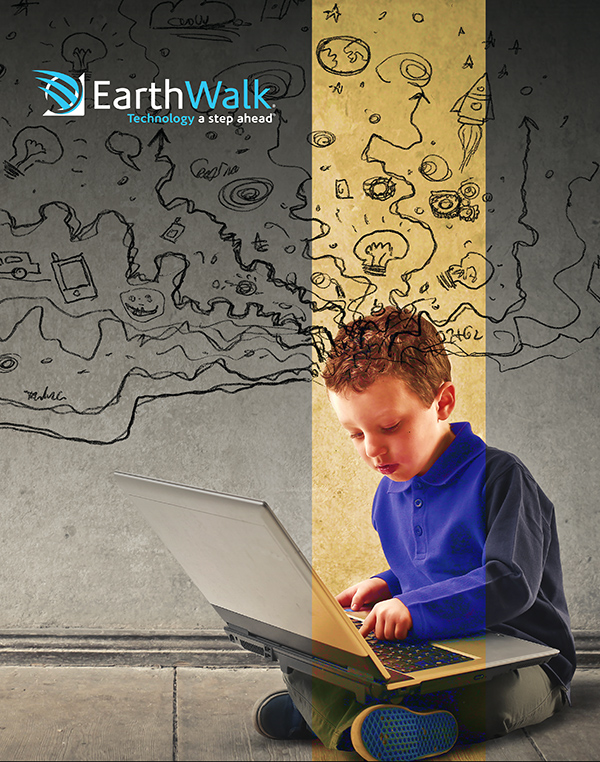 EarthWalk pocket folder