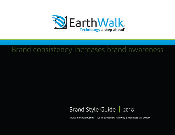 EarthWalk style guide cover
