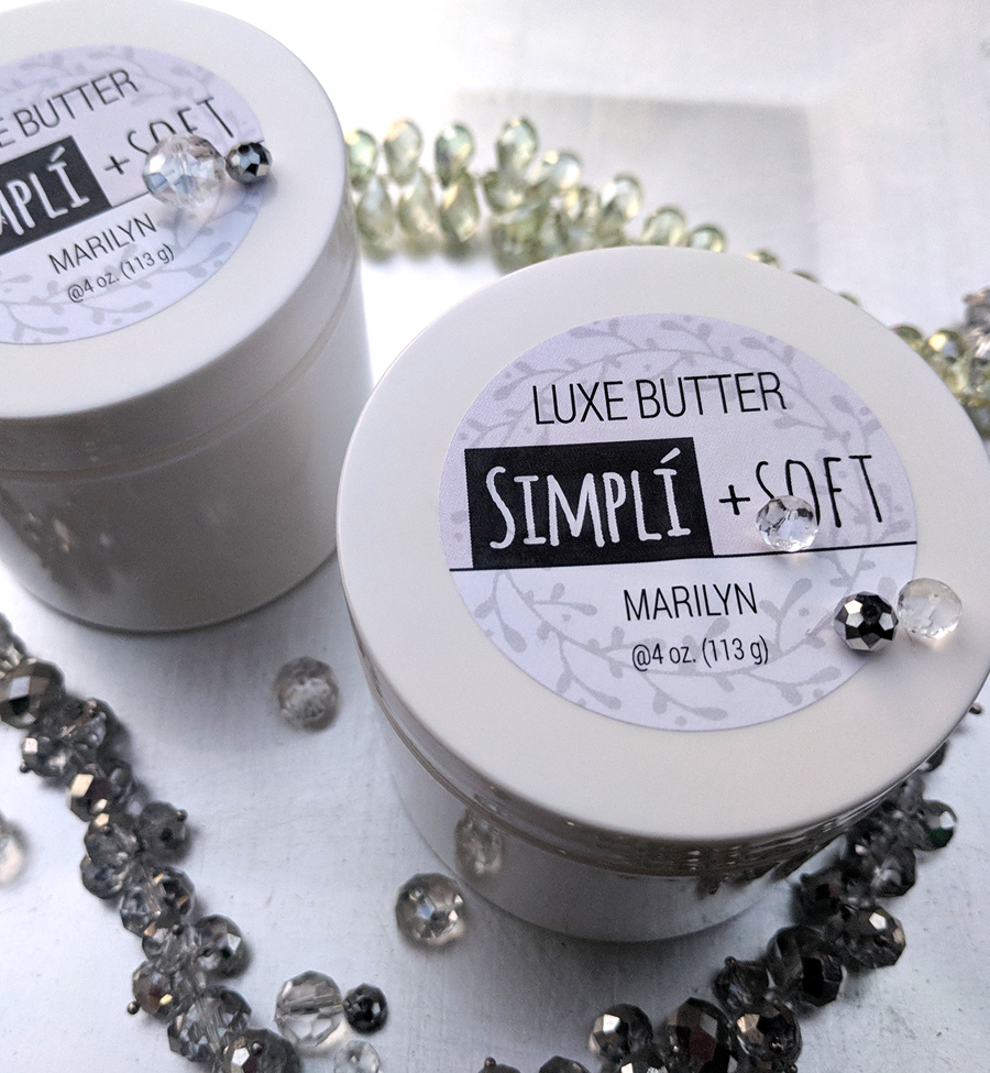 Packaging: Whipped body butter