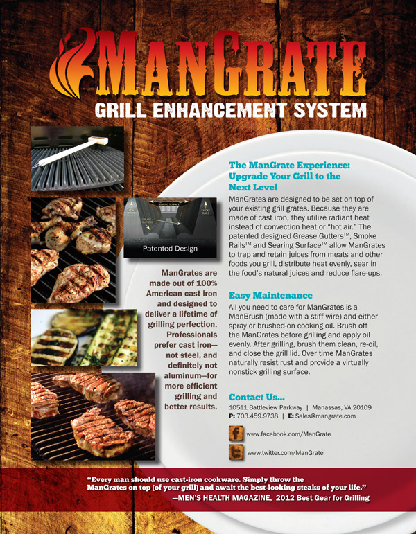 ManGrate flyer