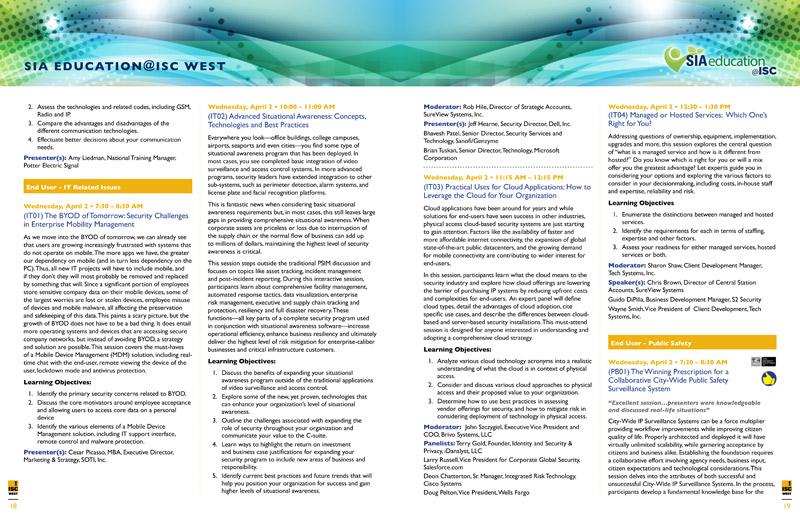 SIA Conference Program